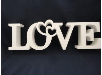 """Буквы из пенопласта """"LOVE"""" В5 /слитно h20см; L50см; w5см(1шт)"""