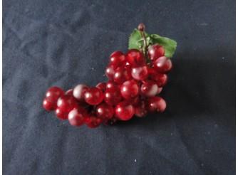 Виноград: 18см/ круглый красный (1шт)