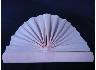 Гофрированная бумага №569/бл.розовый/ 50х250см (1рулон)