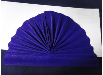 Гофрированная бумага №955/555 /т.фиолетовый/ 50х250см (1рулон)