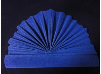 Гофрированная бумага №557/яр.синий/ 50х250см (1рулон)