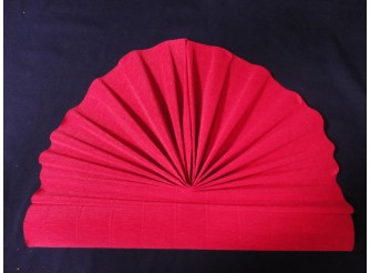 Гофрированная бумага №550/т.розовый/ 50х250см (1рулон)