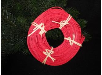 Лоза ротанг красная в мотке 1,75 (100гр)