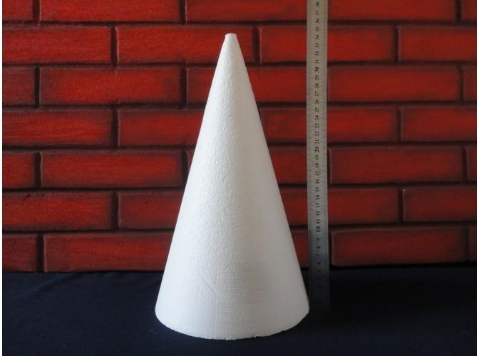 Конус из пенопласта h35, Ø20 (1шт)