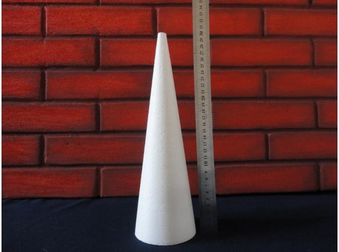 Конус из пенопласта h30, Ø9 (1шт)
