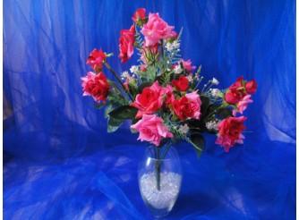 """Букет """"Розы мелкие"""" роз/красн / h 35/ 10 веток (1шт)"""