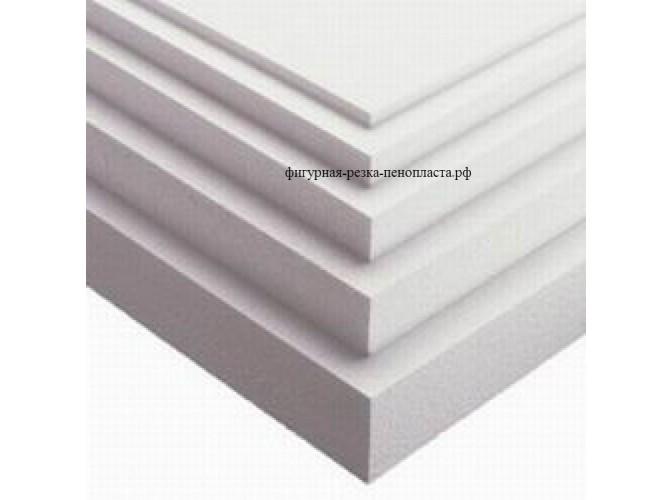 Плита пенополистирольная ППС17/ 100*100*10 см (1шт)