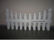 "Декор из пенопласта ""Забор"" ZB001 100см (1 шт)"