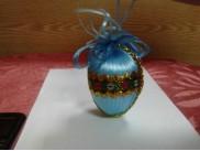 """Пасхальное яйцо """"Светлое Воскресенье"""" на подставке (1шт)"""