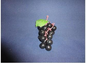 Виноград:15см/ круглый черный  (1шт)