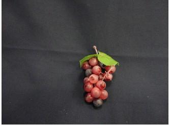 Виноград:15см/ круглый красный  (1шт)