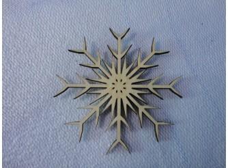 "Снежинка/дерево ""Зимнее солнце"" d10см (набор 5шт)"