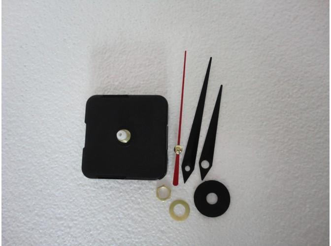 Часовой механизм со стрелками (1шт)