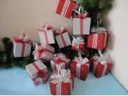 """Декор из пенопласта """"Подарок"""" 8см  (1шт)"""