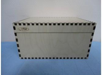 Короб с продольной крышкой на петлях/фанера 8мм (1шт)