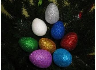 Яйцо блестящее  h5см (1шт)
