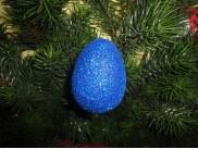 Яйцо блестящее  h7см (1шт)