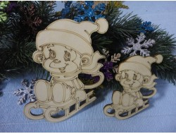 Дед Мороз и другие -  заготовки из фанеры