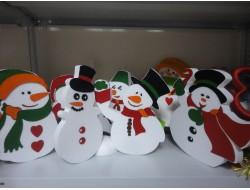 Снеговики 2D с декором