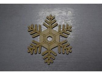 """Снежинка/дерево """"Морозко"""" d10см (набор 5шт)"""