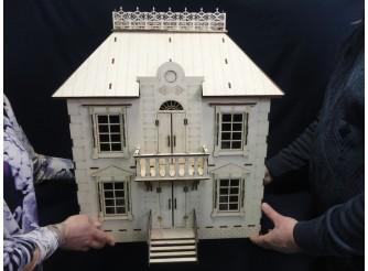 """Кукольный домик """"Маленький дворец """"/фанера (1шт)"""