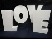Калькулятор - расчет объемных букв из пенопласта, толщина 10 см