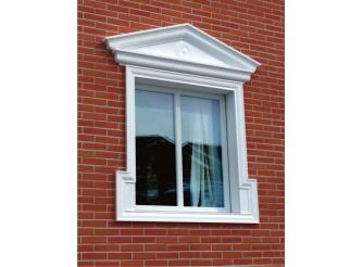 """Декор для фасада из пенопласта """"Окно №2"""" (1комплект)"""