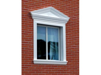 """Декор для фасада из пенопласта """"Окно №3"""" (1комплект)"""