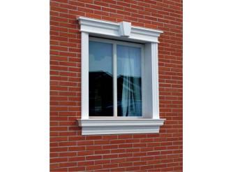 """Декор для фасада из пенопласта """"Окно №6"""" (1комплект)"""