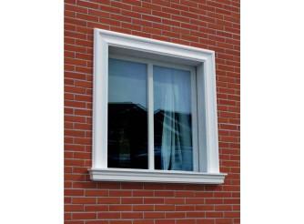 """Декор для фасада из пенопласта """"Окно №9"""" (1комплект)"""
