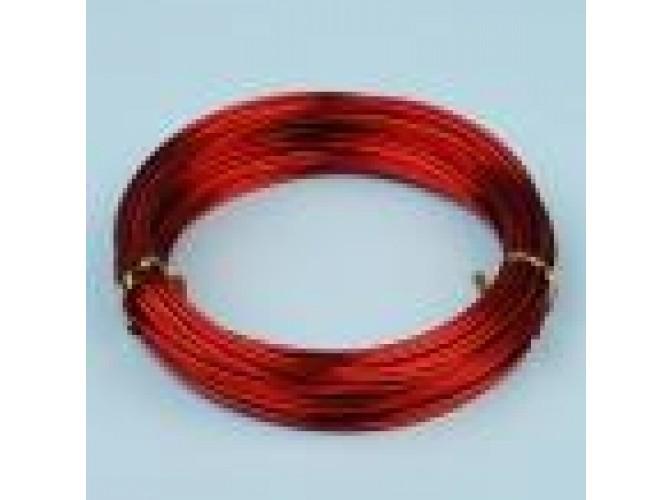 Проволока флористическая красная 1,5мм (5м)
