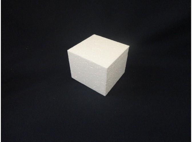 """Заготовка из пенопласта """"Куб"""" 10см (1шт)"""