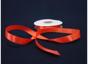 Лента атласная 1,2см /оранжевый ( 1м)