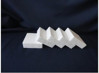 Плитка из пенопласта прямоугольная 10х9х4 (1шт)
