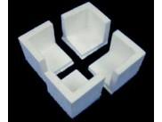 Уголок из пенопласта 3х3х5 см (1шт)