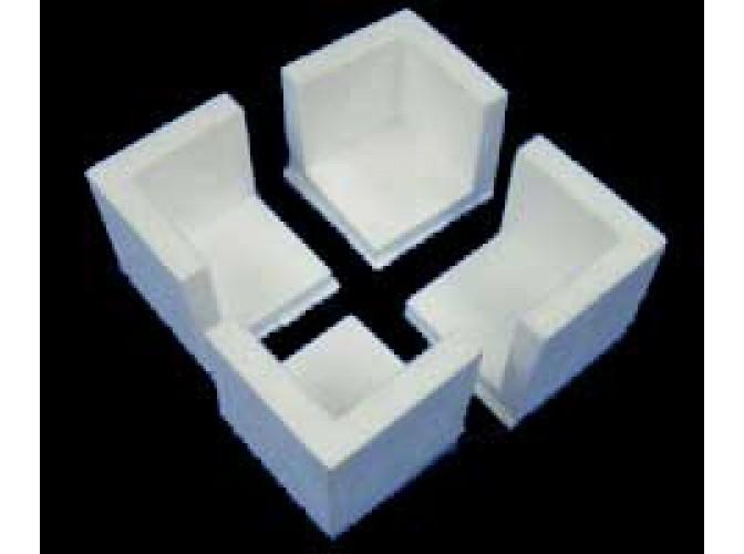Уголок из пенопласта 5х5x5 см (1шт)