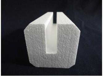 П-профиль из пенопласта 8х8х100 см (1 шт)