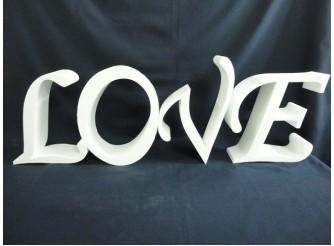 """Буквы из пенопласта """"LOVE"""" h30см, w10см (1 комплект)"""