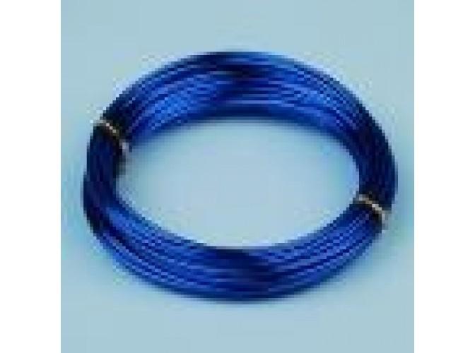 Проволока флористическая синяя 2мм (5м) (1шт)