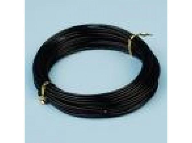 Проволока флористическая черная 2мм (5м) (1шт)