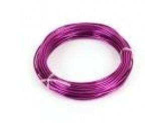 Проволока флористическая фиолетовая 1.0 мм (5м)