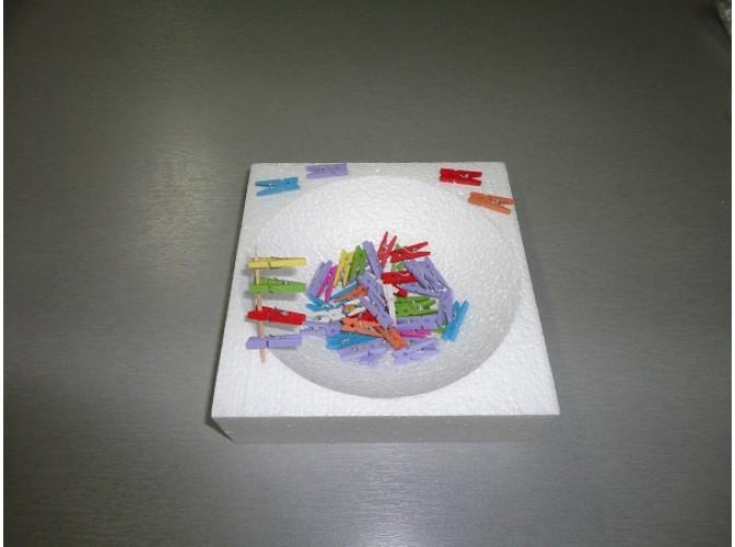 Прищепки декоративные микс малые 2,5см (5шт)