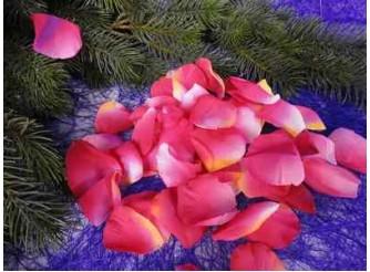 Лепестки розы малиновые (1пак)