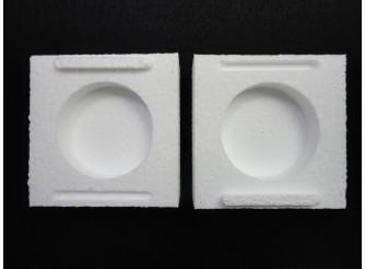 Ложемент двойной с фиксатором 10х10 см (1шт)