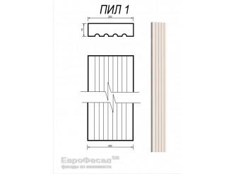 Ствол пилястры ПИЛ-1/250 х70 мм (1шт)