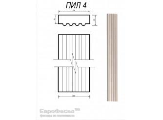 Ствол пилястры ПИЛ-4/ 250х70 мм (1шт)