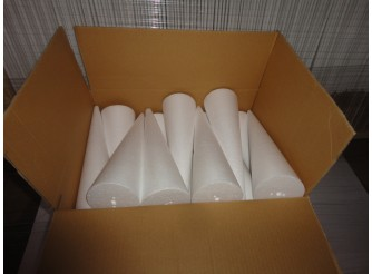 Конус из пенопласта h30, Ø9 (коробка 30шт)