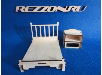 """Комплект мебели """"Кровать с тумбочкой"""" (2 предмета)"""