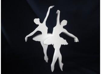 """Заготовка из пенопласта """"Балерины"""" h25см (набор 2шт)"""