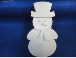 Снеговики 2D заготовки